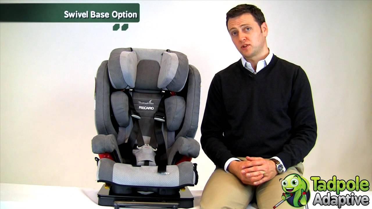 Thomashilfen Recaro Monza Reha Special Needs Car Seat Booster