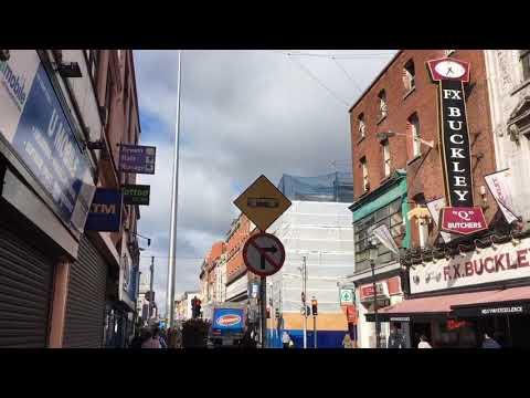 Dublin City Centre, Ireland. Live Periscope stream: Talbot - O'Connell-Henry Streets, 13.08.2018
