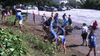 Connecticut College Orientation 2013: Community service day