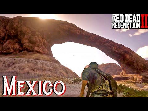 Red Dead Redemption 2 Bridge Glitch | MEXICO & Out Of Bounds 2021 thumbnail