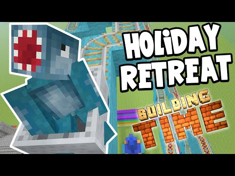 Minecraft Xbox - VACATION RETREAT!! - Building Time! [#44]