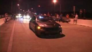 I-Streetrace.com - Ceazdachamp Turbo Civic VS The Fast4Door EVO!!!