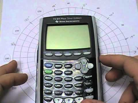 Graphing A Polar Equation On Polar Graph Paper And A Graphing