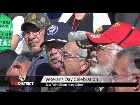 East Point Elementary School Veterans Day Celebration