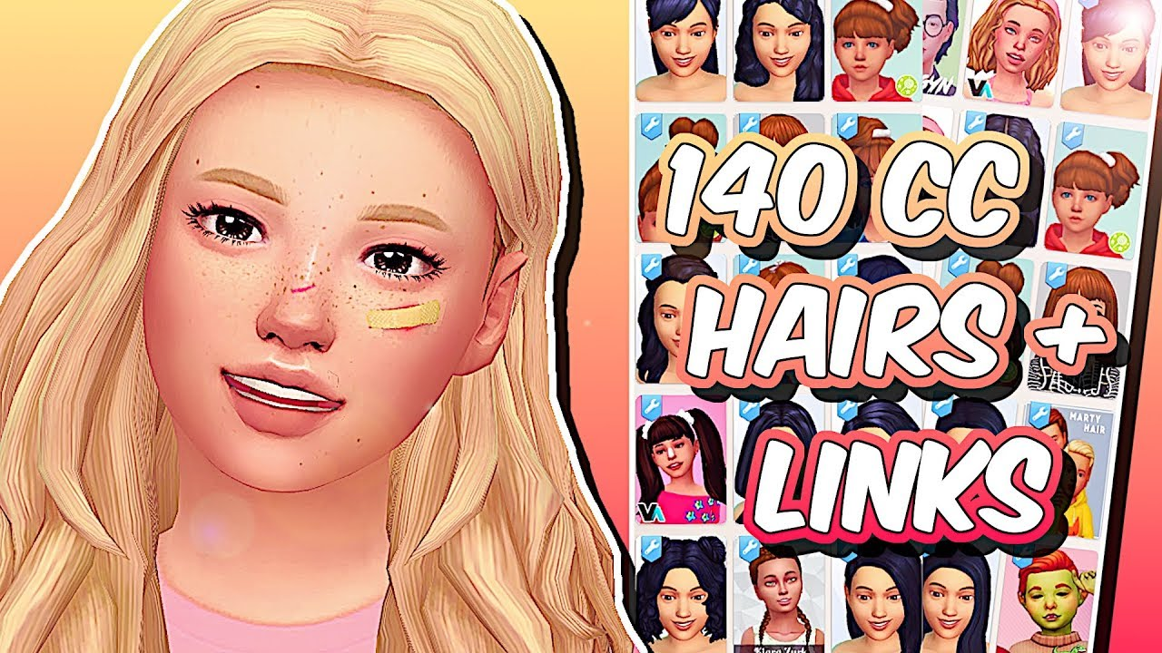 The Sims 4 MAXIS MATCH KIDS HAIR COLLECTION Custom Content