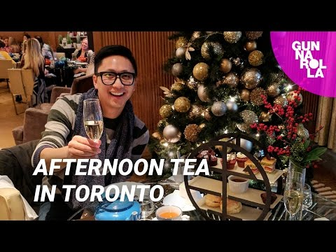 Top Things To Do In Toronto: Afternoon Tea at The Ritz-Carlton