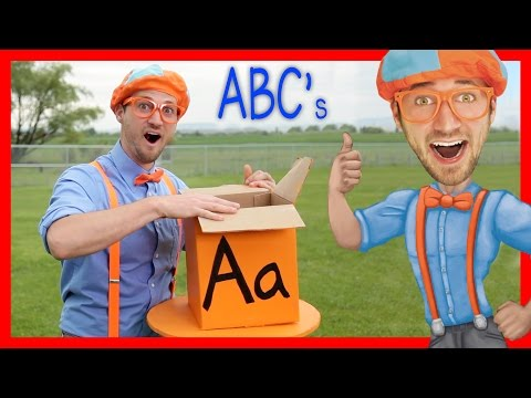 Thumbnail: Learn The Alphabet With Blippi | ABC Letter Boxes