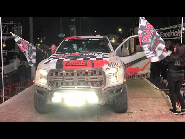 A Stock Ford Raptor in the Baja 1000