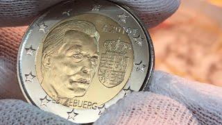 2 евро 2010 Люксембург Герб Великого Герцога