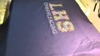 Custom Rhinestone High School Shirt Add on Template