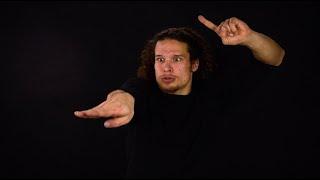 "Deaf Man's ASL Storytelling, ""Lightning Bolt"""
