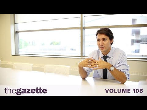 Exclusive Interview with Justin Trudeau