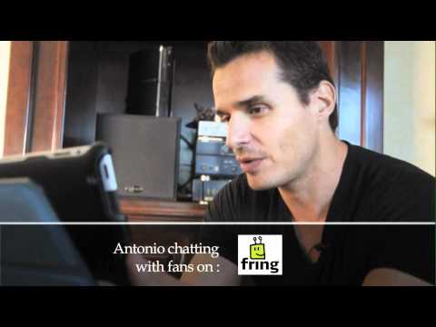 fring celebrity/fan Video Chat - Antonio Sabato Jr.