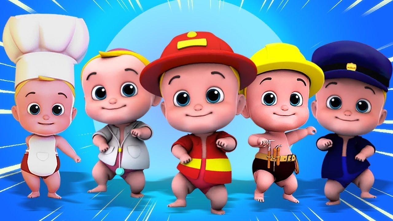 Download Lima Bayi-Bayi Kecil | Lagu Anak Anak | Lagu Anak anak lucu | | Kartun indonesia | Anak kecil lucu