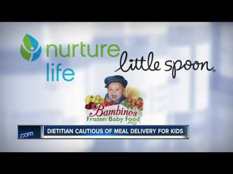 Dietitian warns parents to be cautious with baby food delivery service