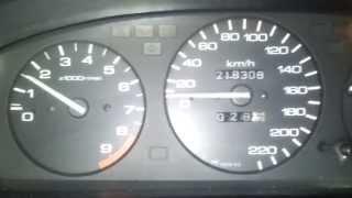 Honda Civic 1.6 Vtec Acceleration