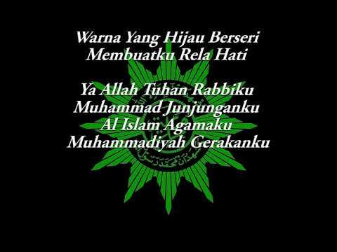 Lagu Pembukaan IMM (Indonesia Raya, Mars Muhammadiyah, Mars IMM)