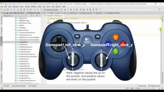 SEE DESCRIPTION FOR UPDATE - Beginner Programming - part 3 - Use the gamepad and servos