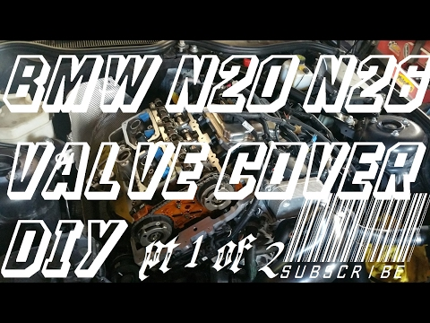 Download Youtube: HOW TO REMOVE BMW N20 - N26 engine valve cover gasket replacement