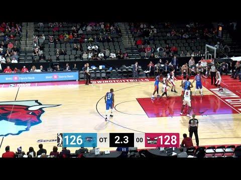 Oklahoma City Blue with 22 3 pointers  vs. Windy City Bulls
