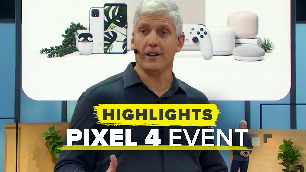 Google's Pixel 4 reveal event in just 10 minutes