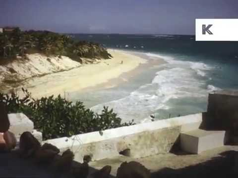 1950s , 1960s Barbados, Caribbean Home Movies