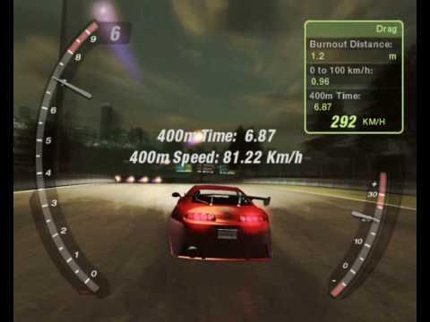 Honda Civic Si '00 - NFSU2 Dyno (Stage 3 + U) | FunnyDog TV