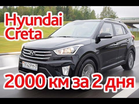 Hyundai Creta супертест на 2000 км посещение завода