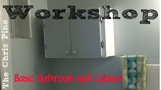 How to Make a Basic Bathroom Cabinet.