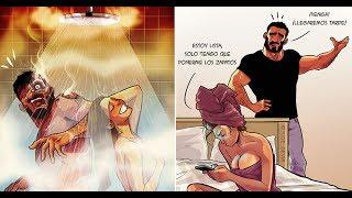 Artista convierte la vida diaria con su esposa en comics geniales