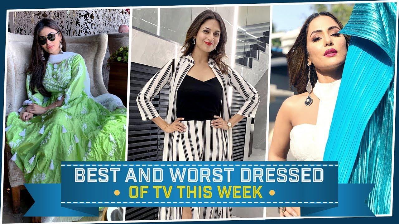 Hina Khan, Divyanka Tripathi, Mouni Roy: TV's Best and Worst Dressed of the Week   Fashion