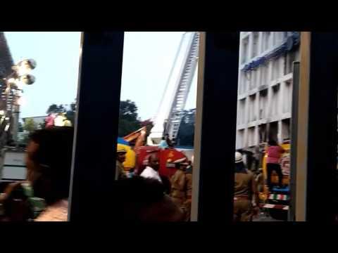 Fire Chennai silk building today