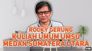 Download Video ROCKY GERUNG | KULIAH UMUM - UMSU MEDAN | Melawan Hoaxs Dengan Komunikasi Akal Sehat MP3 3GP MP4