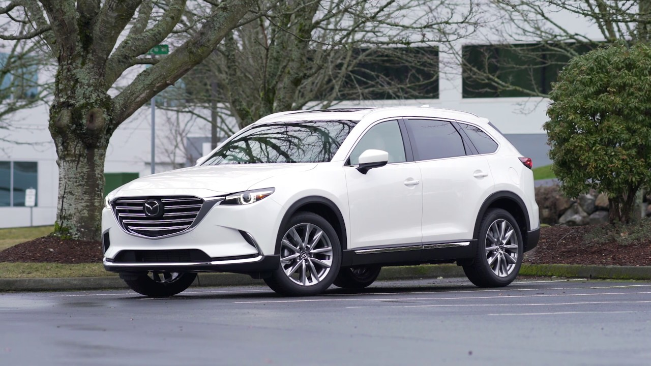 2017 mazda cx-9 grand touring review - autonation - youtube