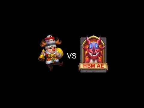 Castle Clash - LiL Nick Vs HBM AE