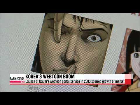 Korea's Webtoon Market Experiences Exponential Growth Over Past 10 Years