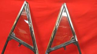 1965 Pontiac GTO Vent Window Frames