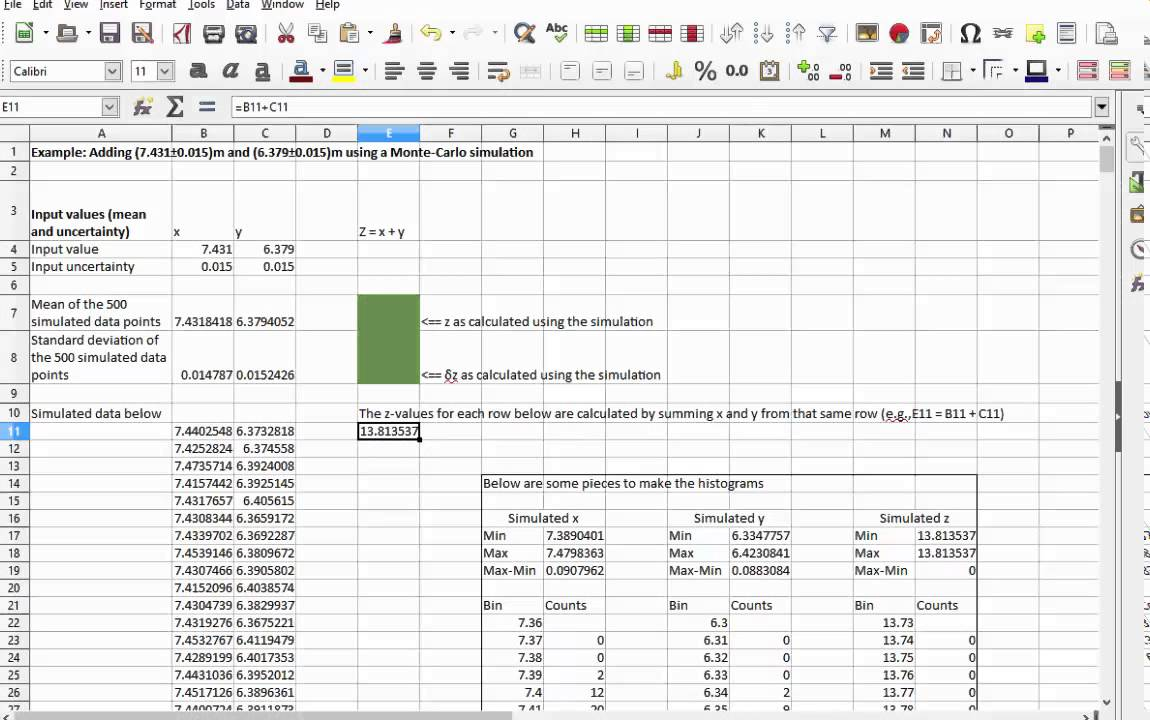 excel monte carlo add in Course overview: the only thing certain about the future is that the future is uncertain monte carlo simulation allows you to quantify the range of outcomes that may occur in an uncertain situation.