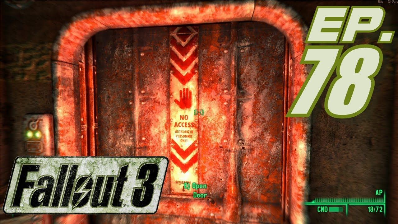 Fallout 3 Goty Gameplay Part 78 Entering The Reactor Chamber Vault 87 At Last In 1080p Hd Youtube