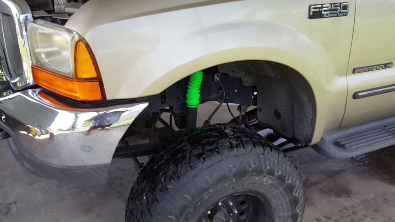 Steering Gear Box Change F250 Superduty 2000 Youtube