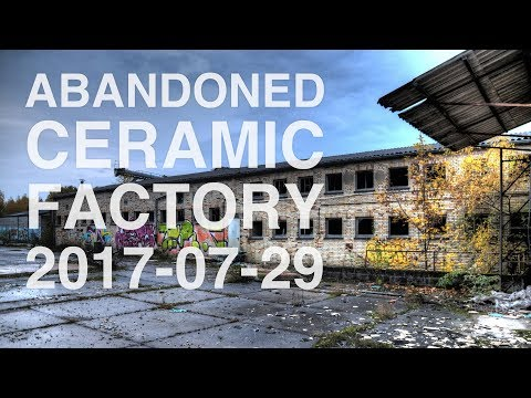 Flying in an abandoned ceramic factory (Drone Urbex)