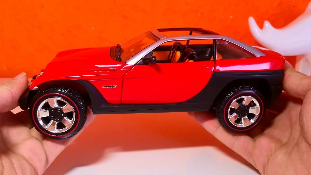 Amazing Model car 06 :: Jeep Jeepster 1999  1:18 scale Must see
