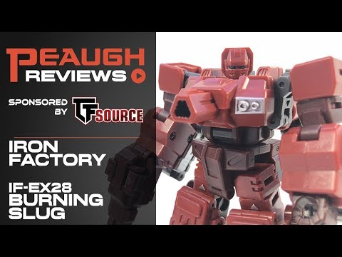 Video Review: Iron Factory IF-EX28 BURNING SLUG