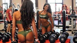 Спортивные девушки. Мотивация для девушек. Фитнес бикини.