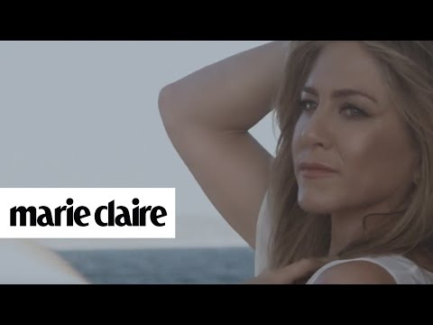 Jennifer Aniston | Behind the Scenes | Marie Claire