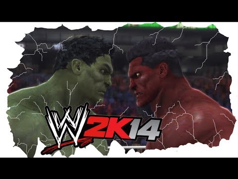 HULK VS Red HULK - WWE 2K14 - I Quit Match - MarcusGarlick