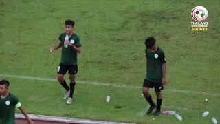 Thailand Youth League Highlight : สมาคมกีฬาแห่งจังหวัดกรุงเทพมหานคร 2-0 บางกอก เอฟซี