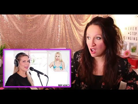 Vocal Coach REACTS to 1 GIRL 13 VOICES Ariana Grande Lady Gaga Selena Gomez Cher and many more
