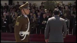 Carabineros de Chile - Ceremonia Juramento a la Bandera 2011