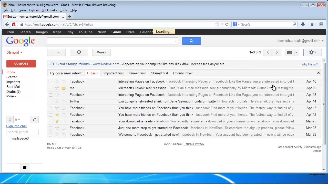 Gmail Spam Settings >> How To Manage Your Spam Filter In Gmail Youtube